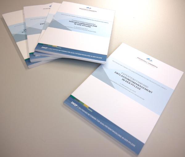 Expertenstandard Deutsches Netzwerk für Qualitätsentwicklung in der Pflege